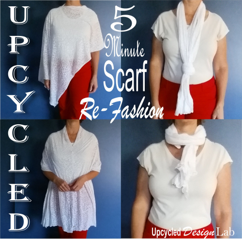 Easy Scarf Re-fashion