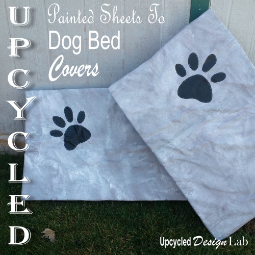 Painted Dog Bed Covers