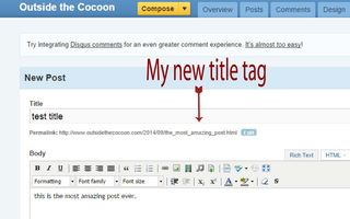 Title tags and Post titles 3