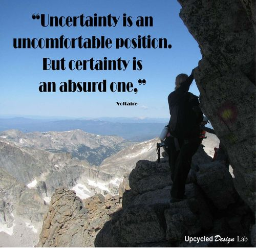 Uncertainty Quote 1