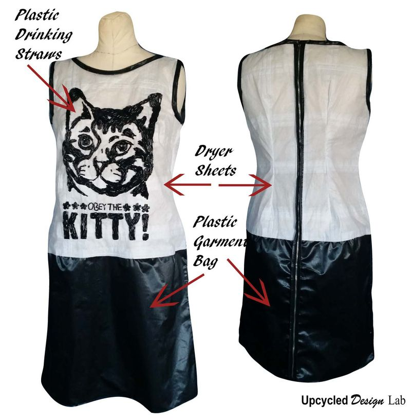 Anatomy of trash fashion dress