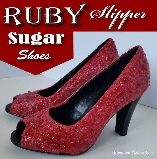 Ruby Slipper Sugar Shoes