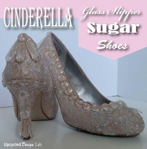 Cinderella Glass Slipper Sugar Shoes