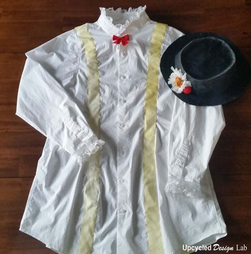 Mary Poppins Hat and Shirt