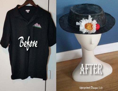 Before and After Hat