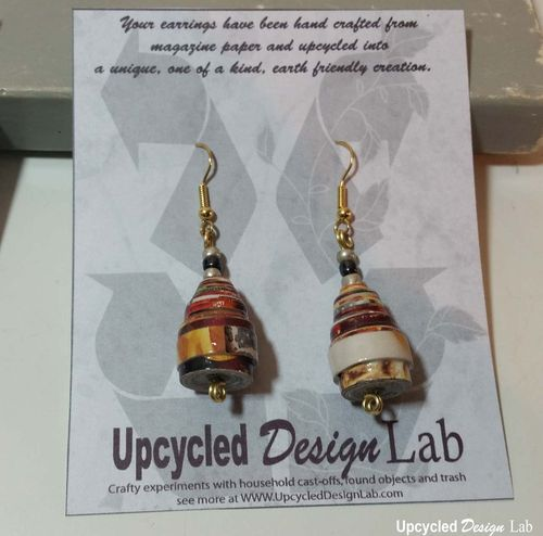 Quilled Paper Earrings Pic 21