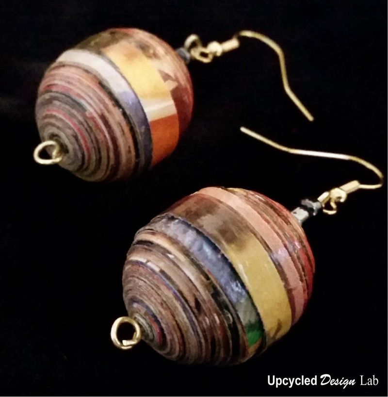 Quilled Paper Earrings Pic 22