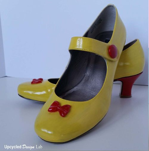 Pic 25 & Upcycled Design Lab Blog - Upcycled Shoe Refashions - Costume Shoes ...