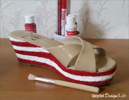 4th of July Shoe Fun 6