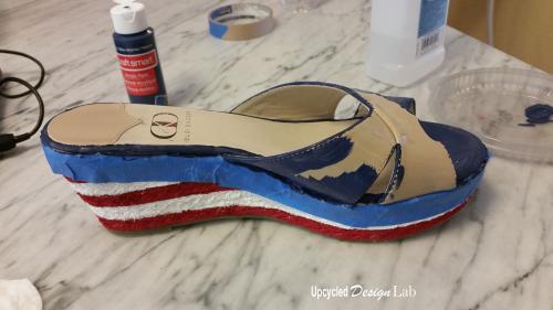 4th of July Shoe Fun 8