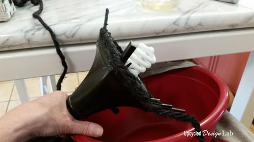 Lamp Shade Repair - 8