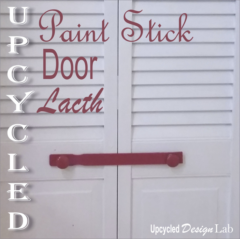 Paint Stir Stick Door Latch - 9