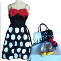 Minnie Mouse Shoe Makeover 6