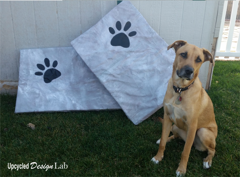 Painted Dog Bed Covers - Pic 6