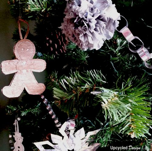 Upcycled Christmas Tree Decorations