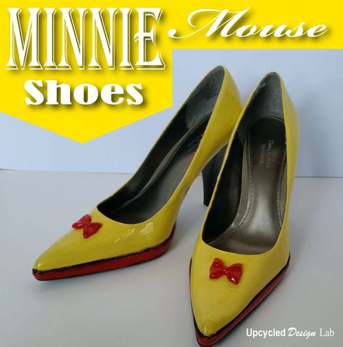 Minnie Mouse Shoes - 2