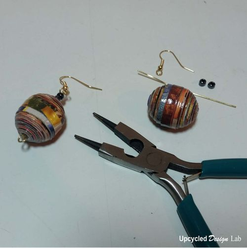 Quilled Paper Earrings Pic 19