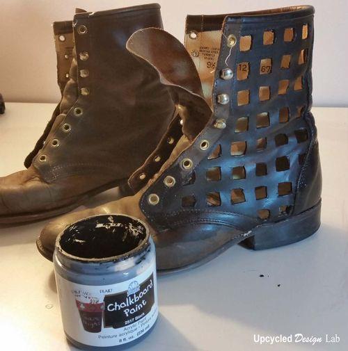 Boot Refashion 10