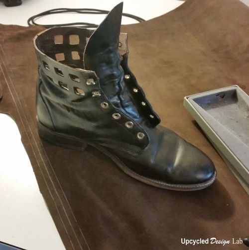 Boot Refashion 13