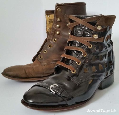 Boot Refashion 25