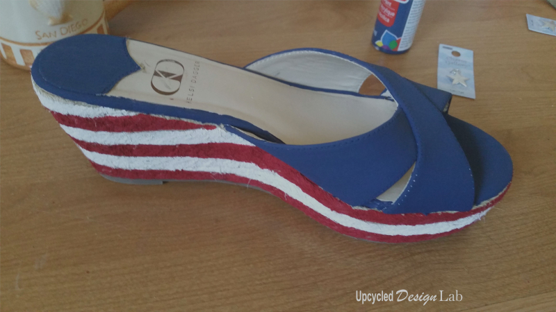 4th of July Shoe Fun 9