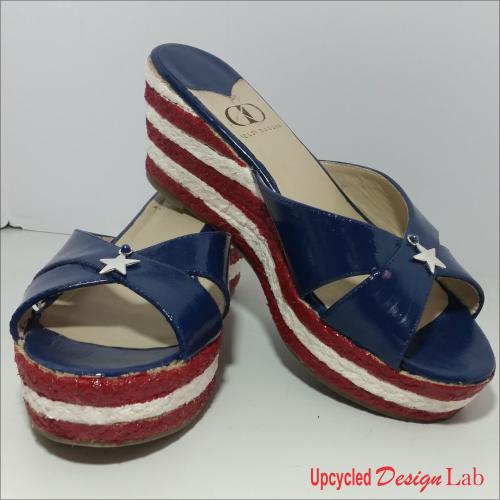 4th of July Shoe Fun 13