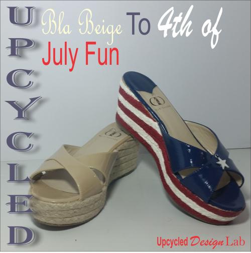 4th of July Shoe Fun 14