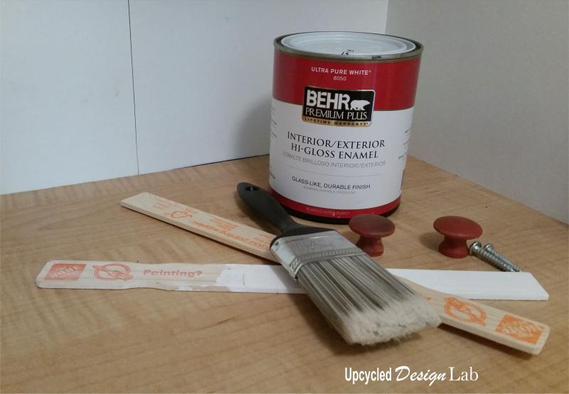 Paint Stir Stick Door Latch - 2