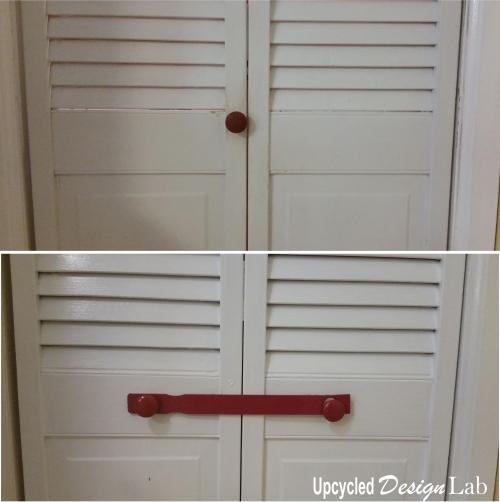 Paint Stir Stick Door Latch - 8