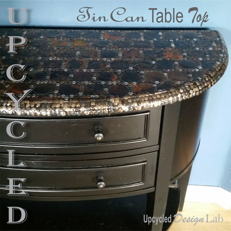 Tin Can Table Top