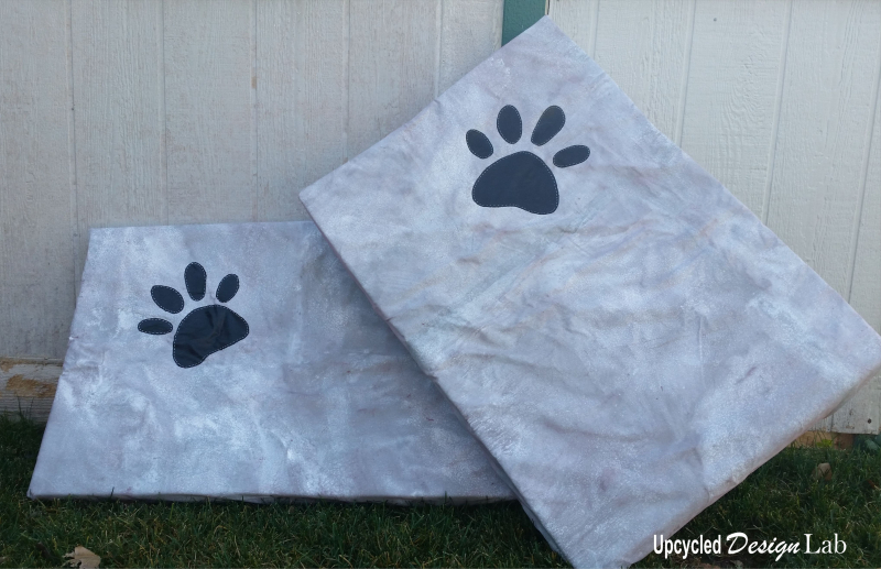 Painted Dog Bed Covers - Pic 5
