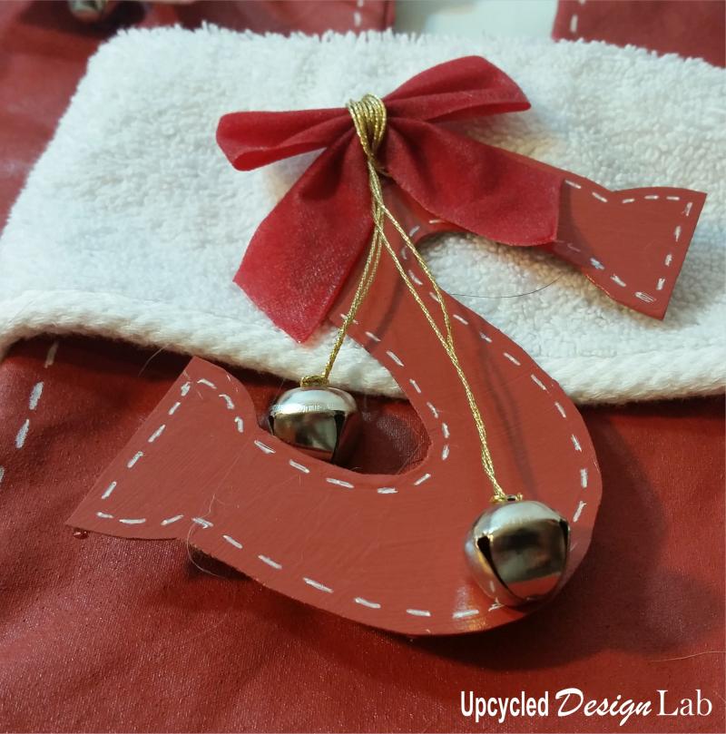 Upcycled Christmas Stockings 3